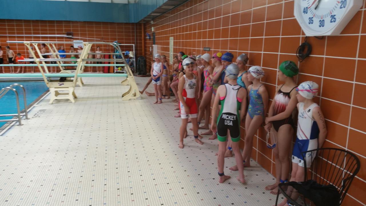Swim- line up