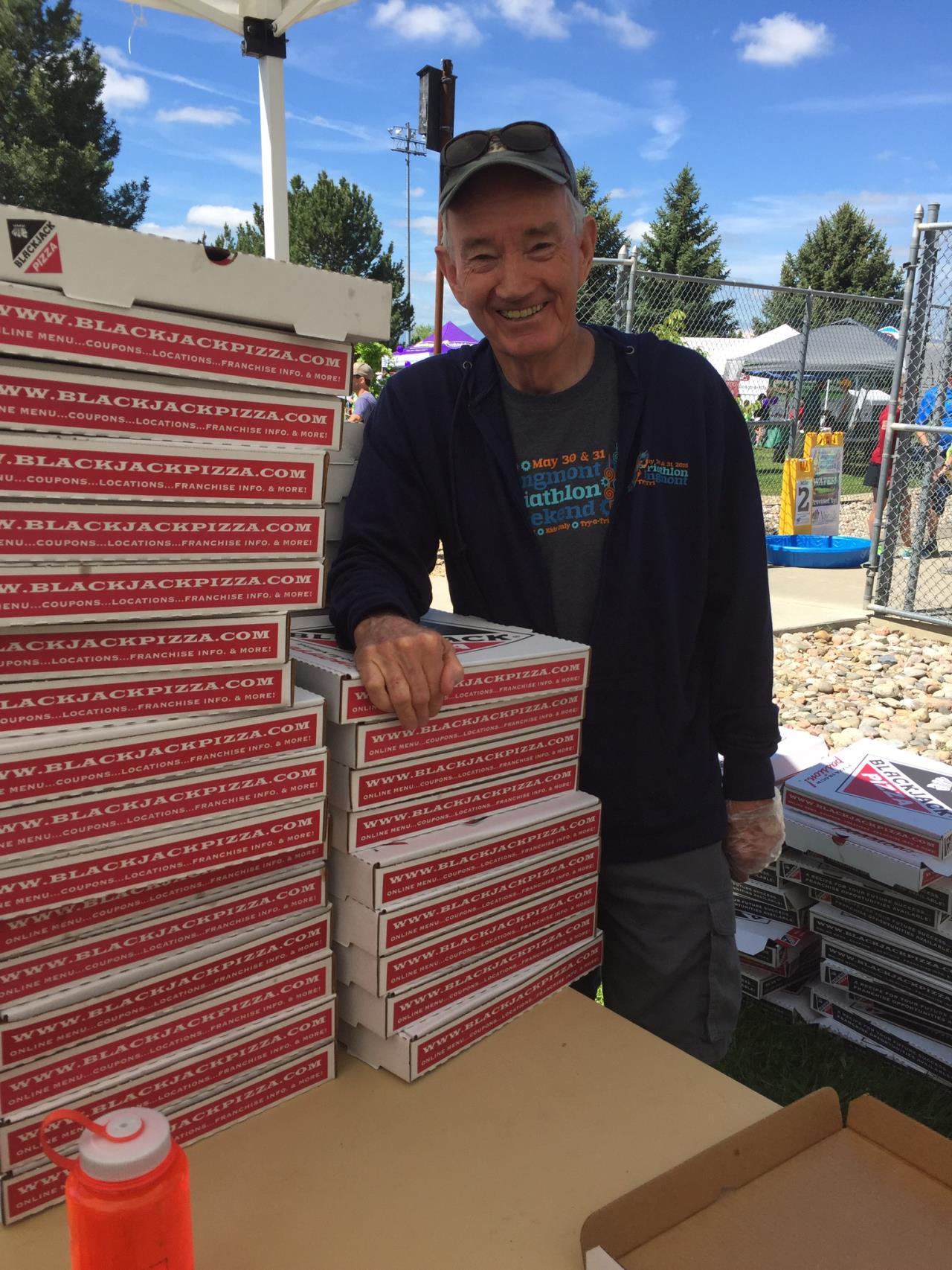 Volunteer- Pizza