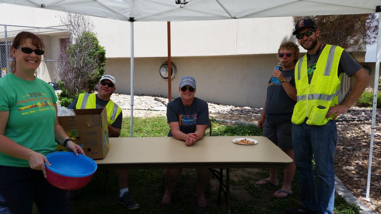 Volunteer crew