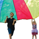 Come to a family storytime and end the fun with parachute play!