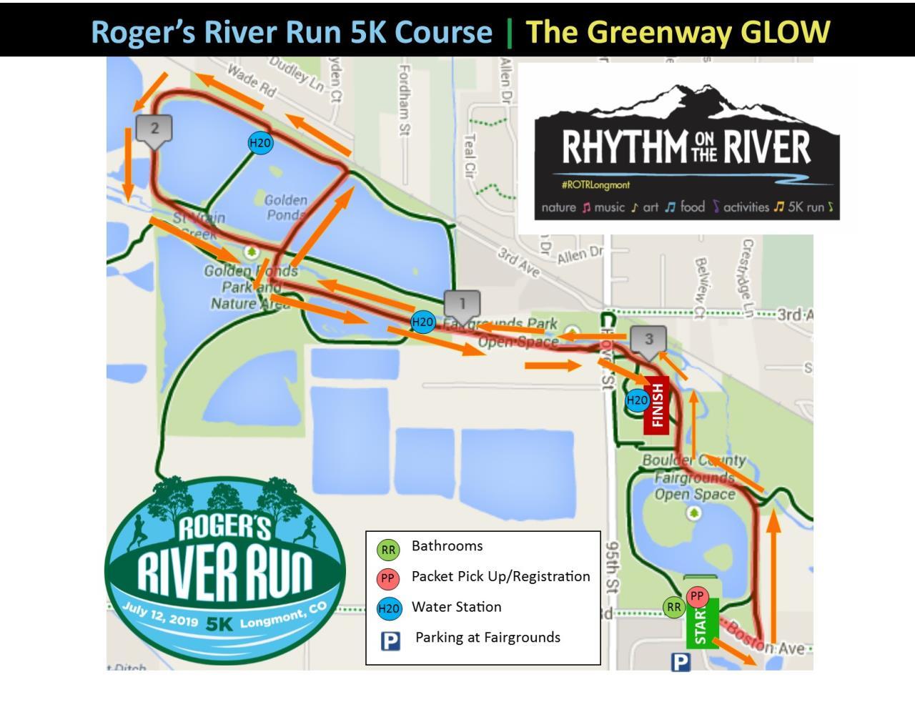 5K RRR Course