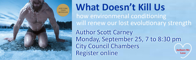 Author Scott Carney will discussion his book about how environmental conditioning can renew our lost evolutionary strength in this author talk.