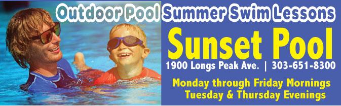 City Of Longmont Colorado Swim Lessons