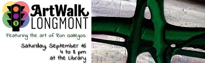 The Library will be the site of an art exhibition as part of Artwalk Longmont!