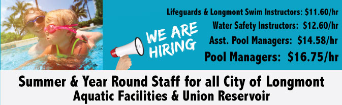 Hiring Summer Aquatic Staff
