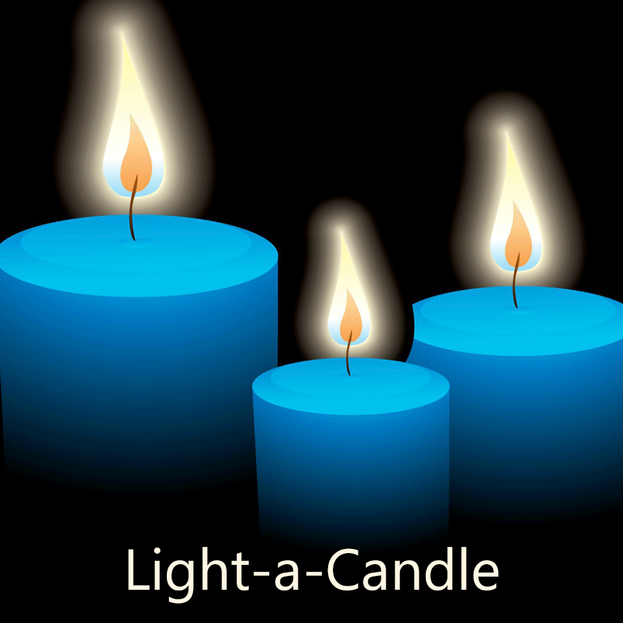 "The library has an annual fundraiser called ""Light-a-Candle."""