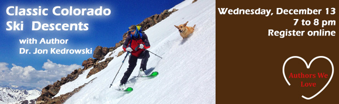 Visit some of Colorado's classic ski descents with Author Dr. Jon Kedrowski.