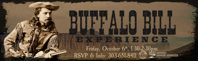 Buffalo Bill Experience Costumed Presentation Slider