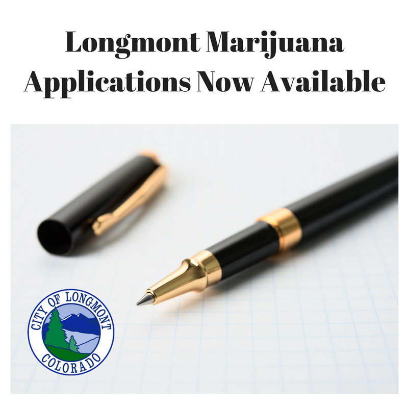 Longmont Marijuana Application Now Available