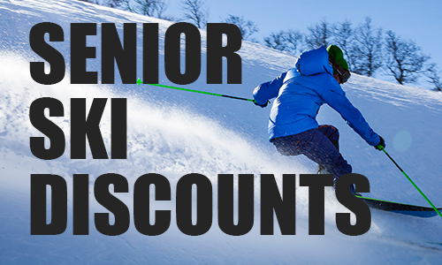 senior ski discounts on Tuesdays
