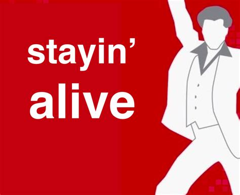 stayin alive CPR
