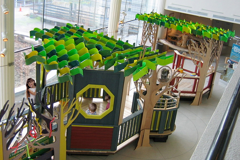 Treehouses exhibit
