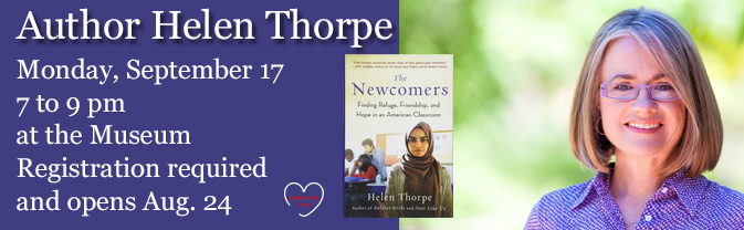 Author, journalist, and former First Lady of Colorado, Helen Thorpe will be visiting the Library to talk about her latest book.