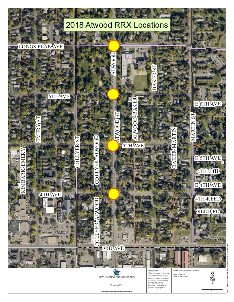 Improvements to RR Crossings on Atwood Street Set to Begin
