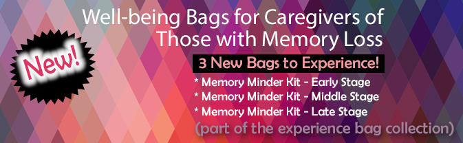The Library has a collection of bags to help you live a happier, healthier, longer life.
