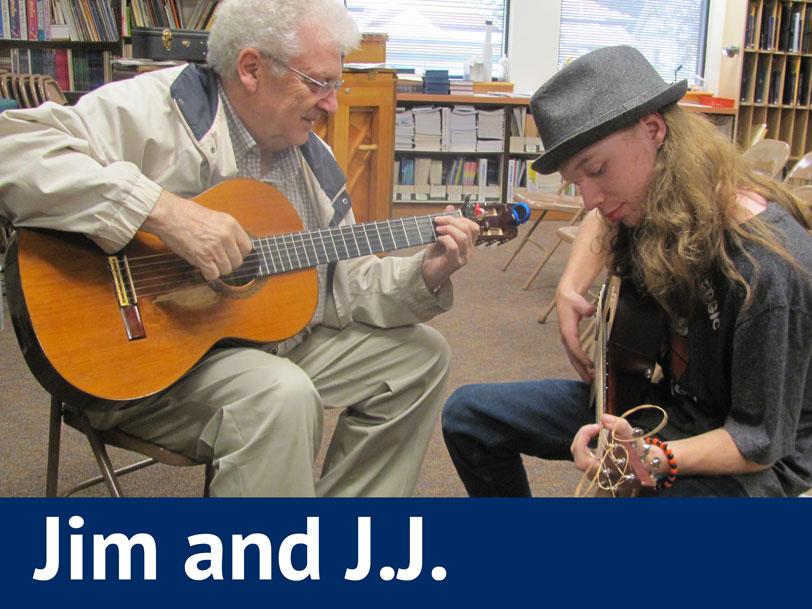 Jim and J.J.