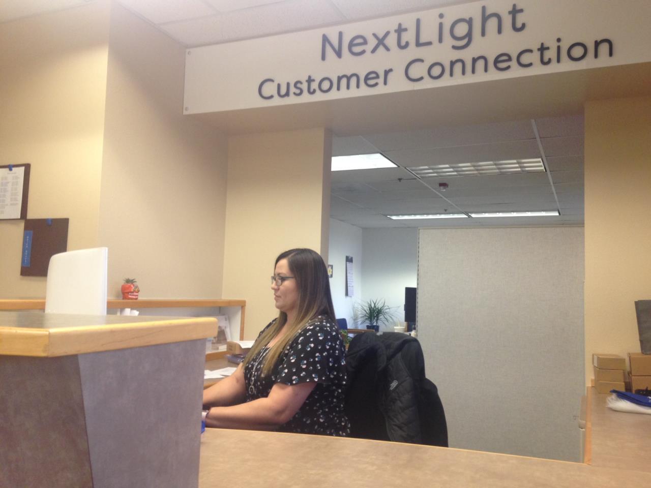 NextLight Customer Connection Desk
