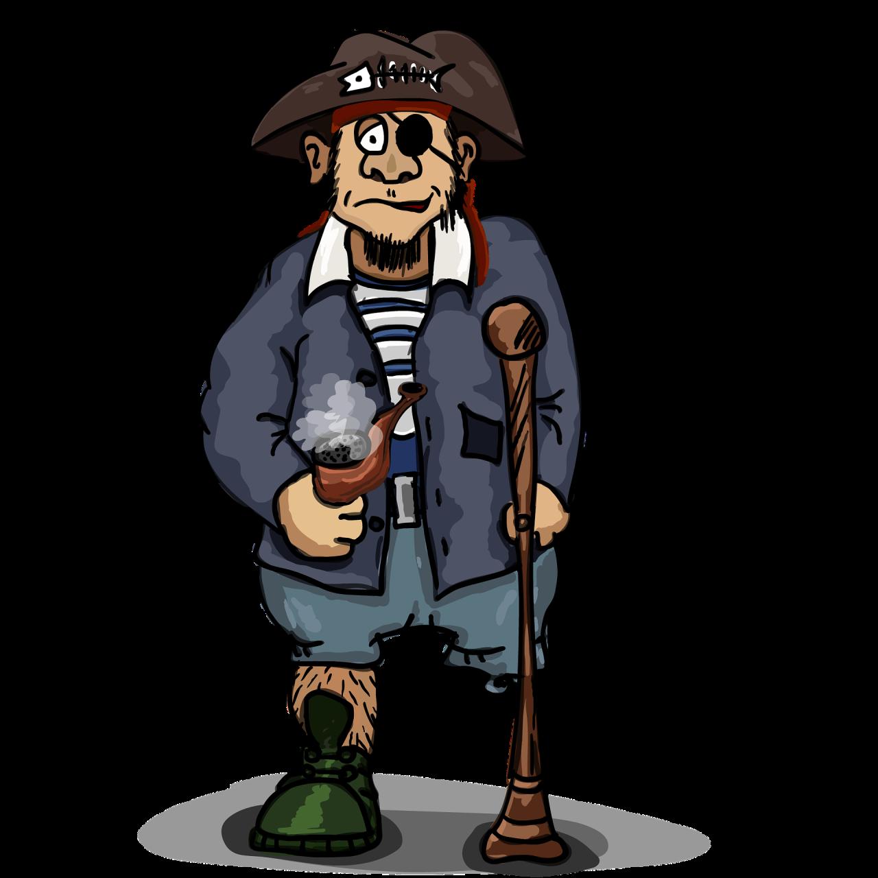 Peg Leg Pirate