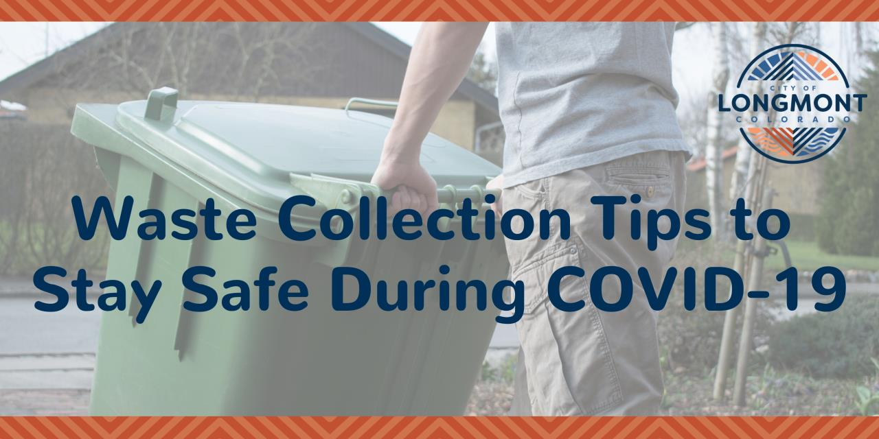 Waste Collection Tips to Stay Safe During COVID-19