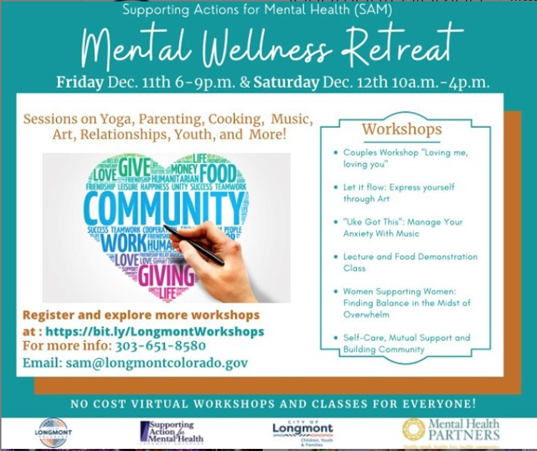 Supporting Action for Mental Health Wllness Retreat