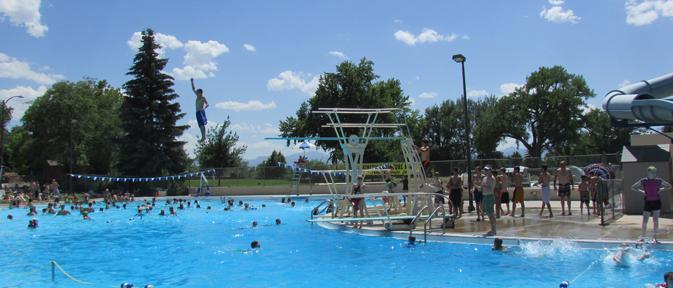 Sunset Swimming Pool City Of Longmont Colorado