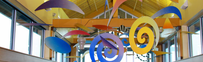 art in longmont recreation center