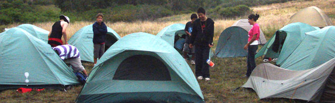 camping tent outdoor youth trip