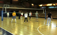 senior volleyball league sport sports memorial gym