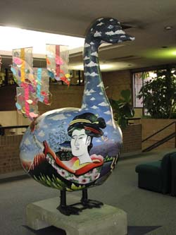 Sister Cities Goose by Beau Townsend and Lory Ohs