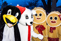 longmont lights costumed characters