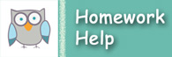 Children and Teens can get Homework Help in person, or online at the library
