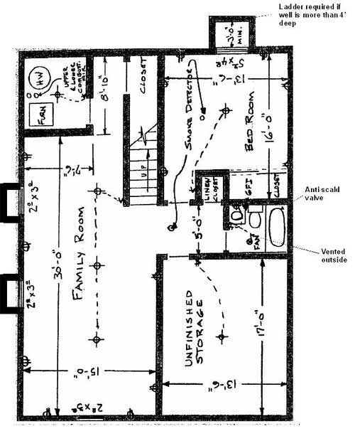 Basement finishes city of longmont colorado Residential building plan sample