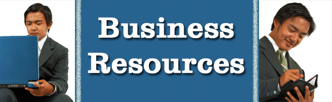 The library has many resources specifically for businesses.