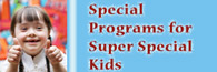 The Library has many special programs and services for children and youth with special needs.
