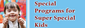 The Library offers many special services and programs for children and youth with special needs.
