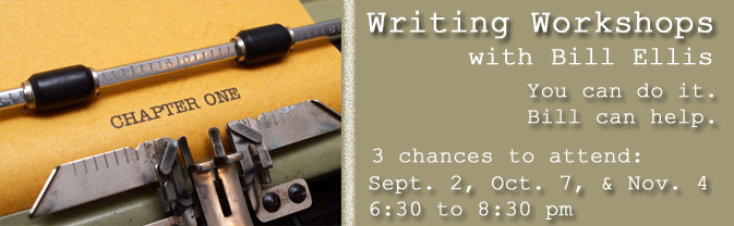 The library will be offering writing workshops in Fall 2015.