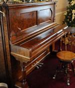 Steinway piano at Callahan House