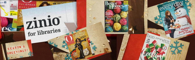 Click to learn more about all the great holiday magazines you can access with your library card!