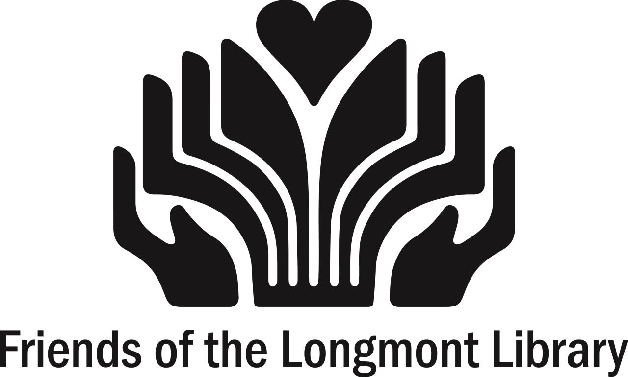 The Friends of the Longmont Library generously support library programs and services.
