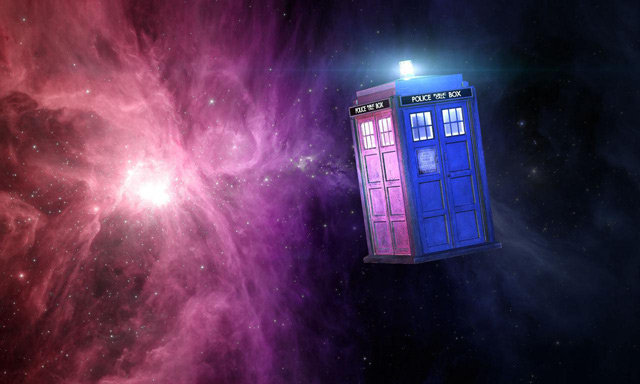 Grab an Experience Bag and immerse yourself in Dr. Who!