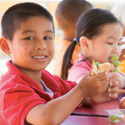 community lunch program, free lunches, lunch in the park