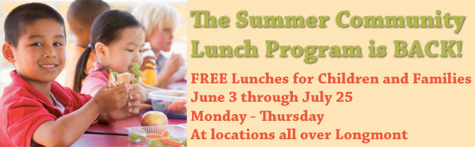 community lunch program, free lunches, lunch in the park, summer lunches