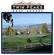Go to the Twin Peaks Golf Course webpage