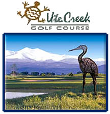 Go to the Ute Creek Golf Course webpage