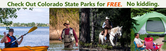 Check Out Colorado with one of our State Park Backpack Kits!