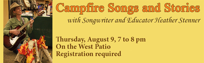 Campfire Songs & Stories | Calendar List View | City of