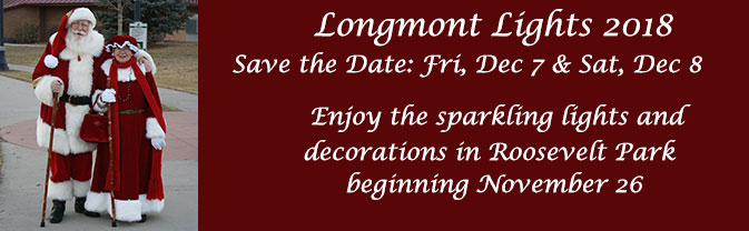 Save the Date for 2018 Longmont Lights