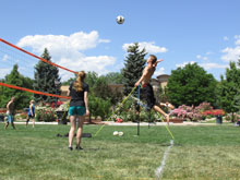 Youth Teen Outdoor Volleyball