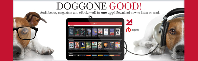 Download audiobooks, digital magazines, and classic eBooks with RBdigital.