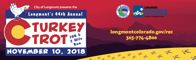 Turkey Trot 2018 Race Banner